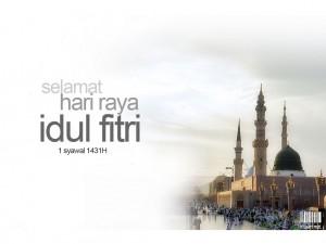 Selamat Hari Raya Idul fitri 1431 H - SMAN 3 Unggulan Kayuagung