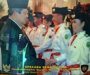 Paskibraka Nasional 2012 Istana Presiden - SMAN 3 Unggulan Kayuagung