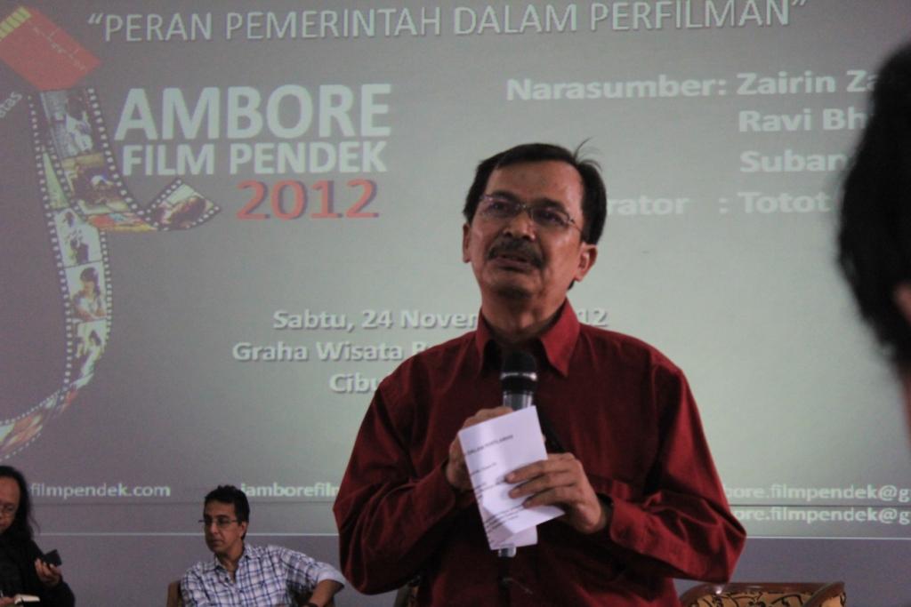 Kegiatan Diskusi Jambore Film Pendek 2012