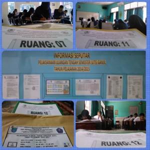 Pelaksanaan UTS dan TO 2014-2015 SMAN 3 Unggulan Kayuagung