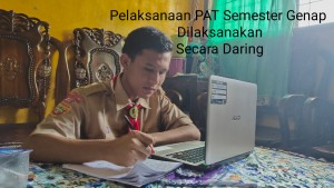 SMAN 3 Unggulan Kayuagung Laksanakan Penilaian AKhir Tahun (PAT) Secara Online