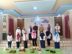 Wakil Ketua DPRD Provinsi Sumatera Selatan Meninjau Persiapan New Normal Menghadapi Covid-19 di SMAN 3 Unggulan Kayuagung