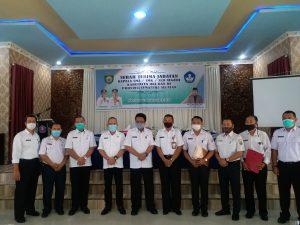 Serah Terima Jabatan Kepala SMA/SMK/SLB Negeri Kabupaten OKI dan OI Provinsi SumSel